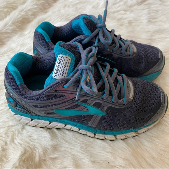 Brooks Shoes   Ariel 16 Teal Running